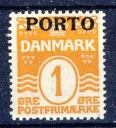 #Denmark 1921. Postage Due. Michel 1. MNH(**). - Postage Due