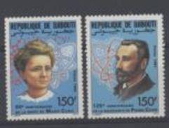 Djibouti Nobel Pierre Et Marie CURIE