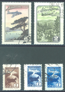 URSS - 1955 - USED/OBLIT. -  - Mi 1749A 1760A-1762A 1762C PERF 12 1/2 Yv PA98-100 - Lot 15229