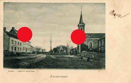Froidthier ( Thimister Clermont ) Eglise Saint Gilles Cachet Postal 1902 - Thimister-Clermont