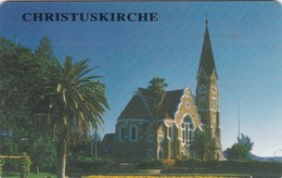 Namibia, NMB 021, $10 Christuskirche, 2 Scans.  (SIE 31)