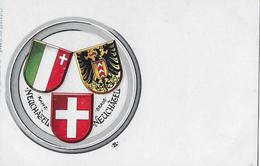 NEUCHÂTEL → Wappenkarte Neuchâtel, Ca.1900 - NE Neuenburg