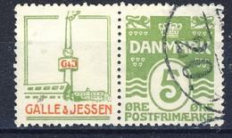 #Denmark 1931-33. Advertising Appendage. Michel R43. Used(o).  AFA Estimation 11€ - Oblitérés