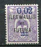 WALLIS -  Yv. N°  27  *   0,02 S 15c   Cote  0,75 Euro  BE   2 Scans - Wallis E Futuna