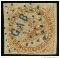 """Colonies Générales - N°3 Oblitération """"GAB"""" - ST"""