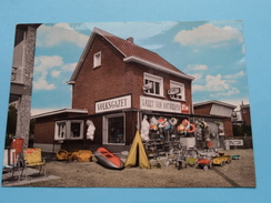 """St. JOB In 't GOOR """" Boek En Dagbladhandel """" ( Huis Maes ) Anno 19?? ( Zie Foto Voor Details ) !! - Brecht"""