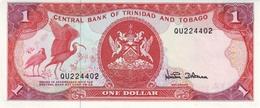 TRINIDAD & TOBAGO 1 DOLLAR ND (1997) P-36d UNC SIGN. DOOKERAN [TT211d] - Trinidad & Tobago