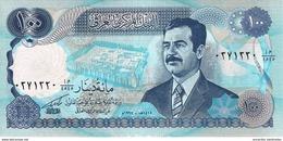 IRAQ 100 DINARS 1994 P-84b UNC DIACRITICAL MARK BELOW LETTERS [IQ340c] - Iraq