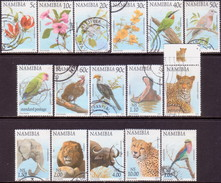 NAMIBIA 1997 SG  749//68 Part Set Used 16 Stamps Of 21