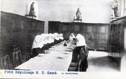 Petit Beguinage. N. D. Gand. Le Refectoire - Gent