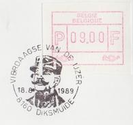 BELGIË/BELGIQUE : Illustr. Date Cancel On Fragment :  ## 18-08-89 : DIKSMUIDE : Vierdaagse Van De IJzer ## : W.O. I,