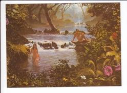 CP - Secret Garden - Reproduction Stephen Parson - Homme Et Femme Nus Au Bord De L'eau - Fine Arts