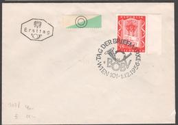 """Österreich 1956: Ersttag """"Tag Der Briefmarke"""" V. 1.12.1956 (siehe Foto/ Scan)"""
