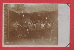 Fontaine  -- Carte Photo --  Groupe De Soldats Allemands Prise à Fontaines - Sonstige Gemeinden
