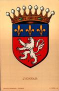 Blason LYONNAIS  - R. Louis Del. - Girard Barrere Et Thomas - France