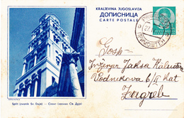 Croatia - Hrvatska , Split - Dopisnica , Postal Stationery 1939 - Kroatien