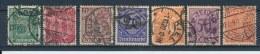 Duitse Rijk/German Empire/Empire Allemand/Deutsche Reich 1920 Mi: DM 16-22 Yt:  (Gebr/used/obl/o)(1312)