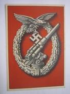 Tag Der Wehrmacht, Flak-Kampfabzeichen, Selten! - War 1939-45