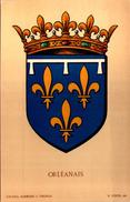 Blason ORLEANAIS  - R. Louis Del. - Girard Barrere Et Thomas - France