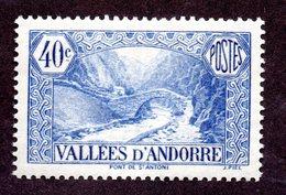 Andorre  N°33 N** TB Cote 30 Euros !!!