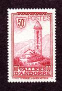 Andorre  N°35 N** (légères Adhérences) TB Cote 30 Euros !!!