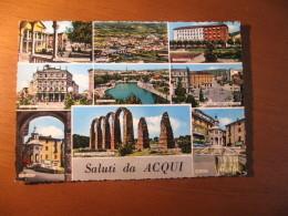 CARTOLINA   - SALUTI DA ACQUI 9 VEDUTINE   -  B -  503 - Alessandria