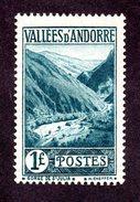 Andorre  N°39 N** TB Cote 41 Euros !!!