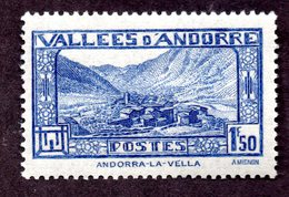 Andorre  N°40 N** (légères Adhérences) TB Cote  50 Euros !!! - Andorre Français