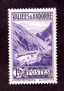Andorre  N°40A N** (légères Adhérences) TB Cote  253 Euros !!!