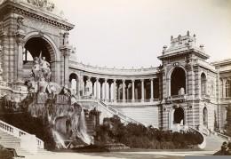 France Marseille Palais De Longchamps Ancienne Photo Jusniaux 1895 - Photos