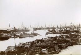 France Port De Marseille Les Bassins De La Joliette Ancienne Photo Jusniaux 1895 - Photographs