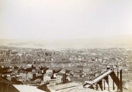 France Marseille Vieux Port Esterel Panorama Ancienne Photo Jusniaux 1895 - Photographs
