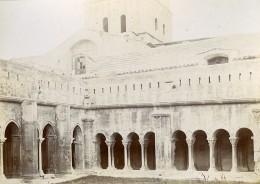 France Arles Cloitre Saint Trophime Ancienne Photo Jusniaux 1895 - Photos