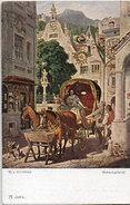 M. VON SCHWIND - - Attelage Historique  (Calèche) Schackkgalerie    (95266) - Usabal