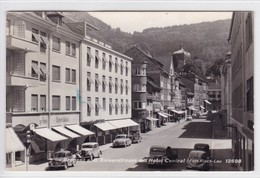BREGENZ Am Bodensee, Kaiserstrasse Mit Hotel Central, PKW, Auto, Oldtimer,