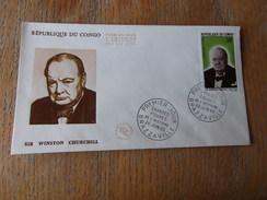 CONGO (1965) Sir WINSTON CHURCHILL - Congo - Brazzaville