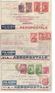 Brazil-Brasil-Brésil 5 Airmail Covers 1 Zeppelin(Condor) 1931-1932 To Great Brtitain&Schotland Nice Lot PR3962 - Briefe U. Dokumente