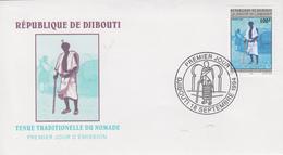 Enveloppe  FDC  1er  Jour   DJIBOUTI    Tenue  Traditionnelle  De  Nomade   1994