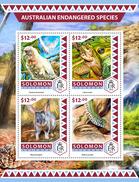 SOLOMON Isl. 2016 - Endangered Species, Parrots