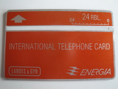 1 Optical Phonecard From Russia - Used