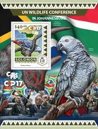 SOLOMON Isl. 2016 - Wildlife Conference, Parrots S/S