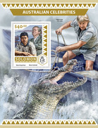SOLOMON Isl. 2016 - Australian Celebrities, Crocodile S/S