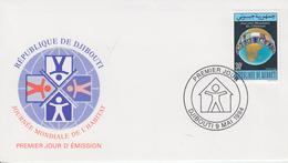 Enveloppe  FDC  1er  Jour   DJIBOUTI    Journée  Mondiale  De  L' Habitat   1994