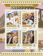 SOLOMON Isl. 2016 - Australian Celebrities, M. Webber