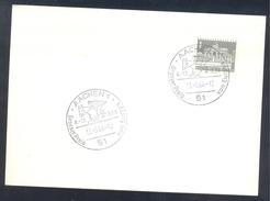 Germany Deutschland 1963 Card: Cavallo Horse Pferd Cheval: GP Grosser Preis Von Europa Springen Jumping Aachen