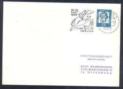 Germany Deutschland 1963 Card: Cavallo Horse Pferd Cheval: Equestrian; Reit Und Spring Turnier Iserlohn
