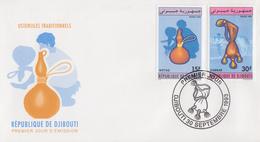 Enveloppe  FDC  1er  Jour   DJIBOUTI    Ustensiles   Traditionnels   1993 - Djibouti (1977-...)