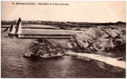 56 Environs De Muzillac BILLIERS Et Le Port De Penlan   (Recto/Verso) - Frankreich