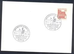 Germany Deutschland 1966 Card: Cavallo Horse Pferd Cheval Equestrian Internatioanl Pentecostal Tournament Pfingstturnier