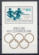 DDR - Michel - 1988 - BL 94 - MNH**